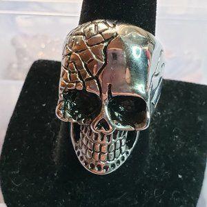 Stainless steel Skull Ring 9